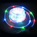 100 LED RGB solární trubice venkovní osvětlení zahrádka dekor
