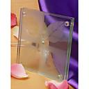 """""""Zamilovat"""" ojíněný list tácky Designové sklo (sada 2)"""
