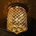 60w cristallo moderna oro incasso finito in forma di spirale