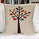 barva strom bavlna dekorativní povlak na polštář