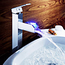 Sprinkle® 浴室用水栓  ,  台式  with  クロム シングルレバー 一つ  ,  特徴  for LEDタイプ / センターセットタイプ
