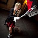 Inspirirana Žderač duše Maka Albarn Anime Cosplay nošnje Cosplay Suits / School Uniforms Jednobojni Crna Dugi rukavKaput / Maja / Shirt /