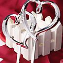 Figurky na svatební dort Nepřizpůsobeno Srdce Pryskyřice Stříbrná Klasický motiv OPP