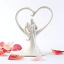 Figurky na svatební dort Nepřizpůsobeno Klasický pár Keramický Klasický motiv OPP