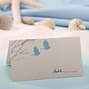 místo karty a držitelé místo karty - lásku ptáci (sada 12)
