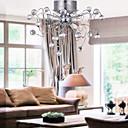 Flush Mount ,  Modern/Comtemporary Electroplated svojstvo for Crystal Metal Living Room Bedroom Dining Room