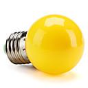 E26/E27 0.5W High Power LED 50 LM Yellow G45 LED Globe Bulbs V
