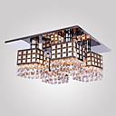Max 40W Flush Mount ,  Modern/Comtemporary Electroplated svojstvo for Crystal Metal Living Room / Bedroom / Hallway