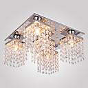 Max 25W Flush Mount ,  Modern/Comtemporary Electroplated svojstvo for Crystal Metal Living Room / Bedroom / Hallway