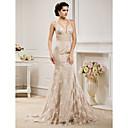 Lanting Bride® Sirena kroj Sitna / Veći brojevi Vjenčanica - Klasično i svevremensko / Elegantno i luksuzno Vjenčanice u bojiJako kratki
