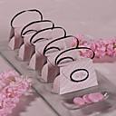 12 kom / set nositelj uslugu - kreativni karton papir milost kutije ružičasti pokrivač novčanik