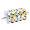 9W R7S LED corn žárovky T 42 SMD 5050 650 lm Teplá bílá AC 85-265 V