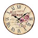 země květinové nástěnné hodiny