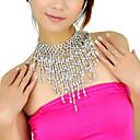 stiropor sa izvlačenja trbušni ples ogrlica više boja dostupnih