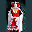 Inspirirana Touhou projekt Reimu Hakurei Video igra Cosplay nošnje Cosplay Suits Kolaž Crvena Top