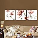 Modern Scenic Wall Clock in Canvas 3pcs K0074
