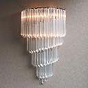 60W E14 krom finiširanje zid svjetlosti s kristalnog stakla trakama i 3 svjetla
