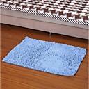 エレイン繊維吸水滑り止めの敷物(50 * 80センチメートル、青)