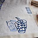 sada 6 prostírání blue prádlo květinové
