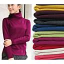yiliange slim mercerovaná bavlna vysoký límec primer svetr