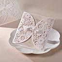 """Personalization Zamotajte & Pocket Vjenčanje Pozivnice Pozivnice-50 Piece / Set Pearl papira 6 """"x 6"""" (15 * 15cm)"""
