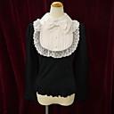 Halenka / košile Sweet Lolita Lolita Cosplay Lolita šaty Bílá / Černá / Růžová Patchwork Dlouhé rukávy Lolita Halenka Pro Dámské Bavlna