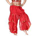 Břišní tanec Spodní část oděvu Dětské Trénink Šifón Mince / Flitry Jeden díl Přírodní Kalhoty