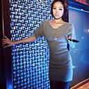 Yizhiyan Elegantno jednostavan Knit haljina