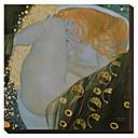 Danae Gustav Klimt Famous Reprodukce na plátně