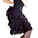 Dancewear viskoza s cvijećem latinski ples Suknja za dame