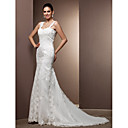 Lanting Bride® Mořská panna Drobná / Nadměrné velikosti Svatební šaty - Klasické & nadčasové / Okouzlující & dramatické RetroVelmi dlouhá