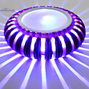 3W LED Moderní nástěnné světlo s BARIÉRY, hliníkové tělo Ray rozptyl světla
