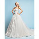 Lanting Bride® A-Linie / Princess Drobná Svatební šaty - Klasické & nadčasové / Elegantní & luxusní Retro / Lesk a flitryVelmi dlouhá
