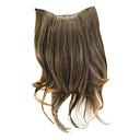 """20 """"Clip v prodlužování vlasů kudrnaté hnědé"""