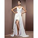 Lanting Bride® Pouzdrové Drobná / Nadměrné velikosti Svatební šaty - Elegantní & moderní / Elegantní & luxusní Svatební šaty dva v jednom