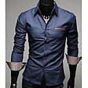 Muška koža Pocket Slim Traper košulja