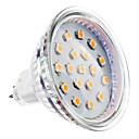 4W GU5.3(MR16) LED reflektori MR16 15 SMD 2835 300 lm Toplo bijelo DC 12 V