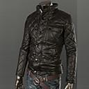 Muška ogrlica stalak baršunasta unutrašnjosti guste pu jakne