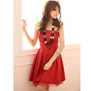 Holiday Lady Moda Crvena kratka haljina Kaiša