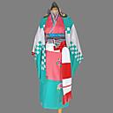 Inspirovaný Blue Exorcist Shiemi Moriyama Anime Cosplay kostýmy Cosplay šaty / Kimono Geometrie Niebieski Dlouhé rukávyKimono / Yukata /
