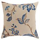 伝統的な花の抗™ポリエステル枕カバー