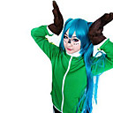 Inspirirana Vocaloid Gumi Video igra Cosplay nošnje Cosplay Tops/Bottoms Kolaž Zelena Dugi rukav Kaput