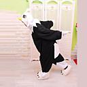 Kigurumi Pyžama Eagle Leotard/Kostýmový overal Festival/Svátek Animal Sleepwear Halloween Bílá / Černá Patchwork polar fleece Kigurumi Pro