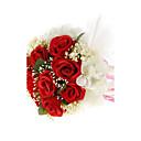 """Cvijeće za vjenčanje Krug Roses Buketi Vjenčanje Srebrna / Obala / Crvena 7.09 """"(Approx.18cm)"""