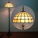 Gljiva Dizajn podna lampa, svjetlo 2, Tiffany Smola Staklo Slikarstvo Process