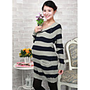 Amal Ženska kontrast boja u dugu dionicu džemper