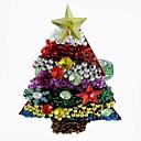 Christmas Tree salvete Ring set od 12, akril Dia 4,5 cm