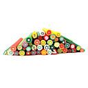 20ks Cute 3D Ovoce Nail Art FIMO Canes pruty dekorace