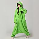 Kigurumi Pidžame Monster Hula-hopke/Onesie Halloween Zivotinja Odjeća Za Apavanje Zelen Kolaž Flis Kigurumi Uniseks Halloween