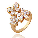 Xinxin Ženska 18K Gold Cirkon Ring J1176
